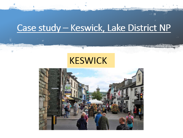 Concept of place and Keswick case study