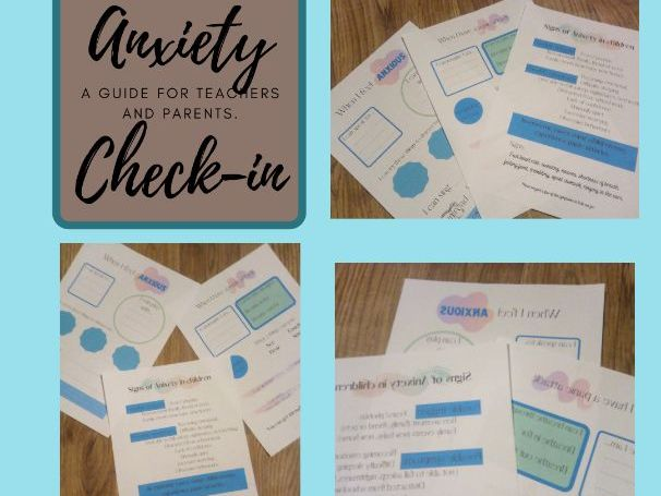 Anxiety check in- panic attack help sheet- mental health support