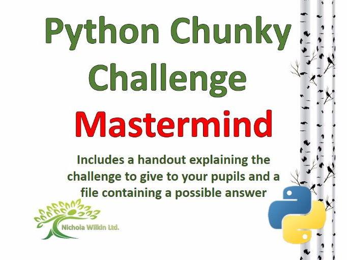 Mastermind Python Chunky Challenge