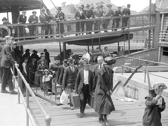 Immigration to the USA during the 1920's