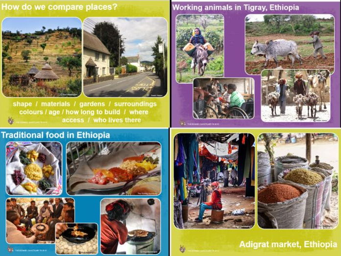Comparative Geography Key Stage 1: UK and Ethiopia
