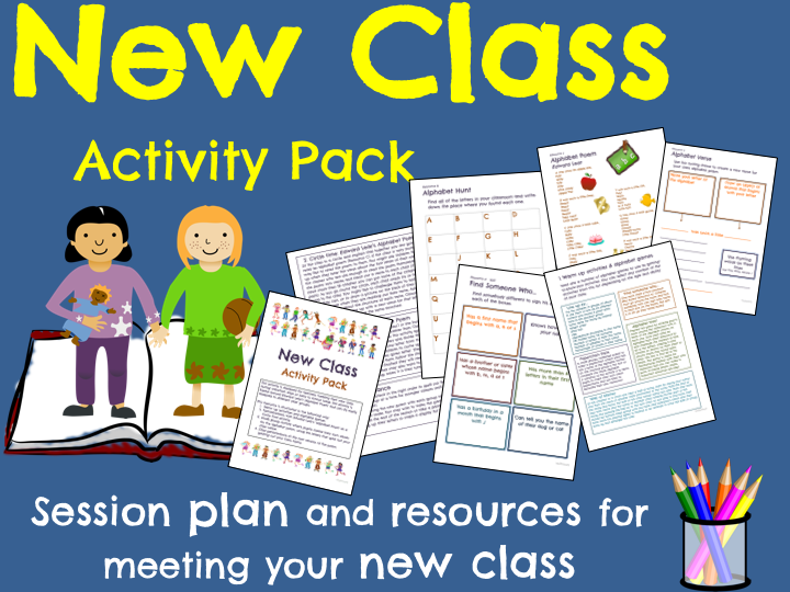New Class Activity Pack