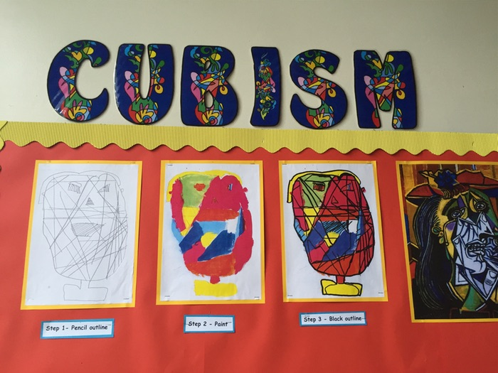 KS1 Picasso/Cubism Portrait Art lesson pack