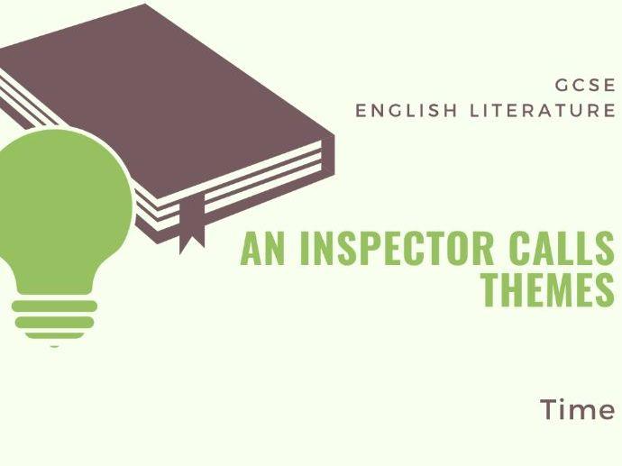 An Inspector Calls - Time - Theme