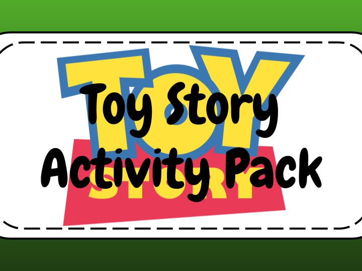 Toy Story Activity Pack