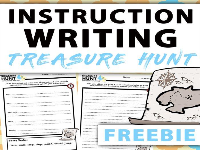 Instruction Writing - Treasure Hunt