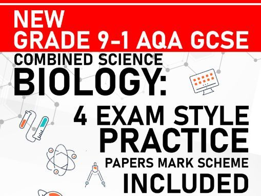 PREDICTED 2021 AQA GCSE Combined Science Biology Practice Paper - Mark Scheme Included - Paper 1