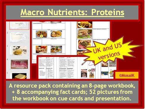 Macronutrients Proteins