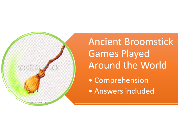broom stick games comprehension
