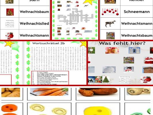 Colourful German Christmas Super- bundle