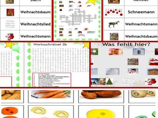 Colourful German Christmas Super- bundle