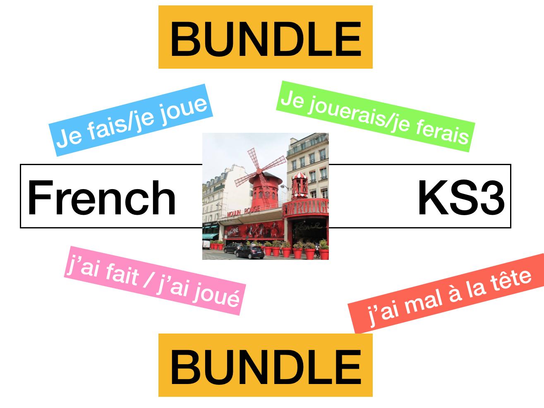 KS3 - French Allez 1 Bouger c'est important  (8.1 -8.2 -8.3 - 8.4)