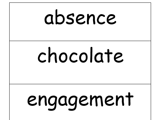 Stage 6/7 Common Word Flashcards