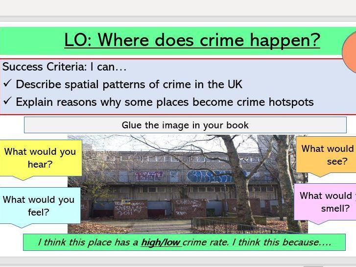 Where does crime happen?