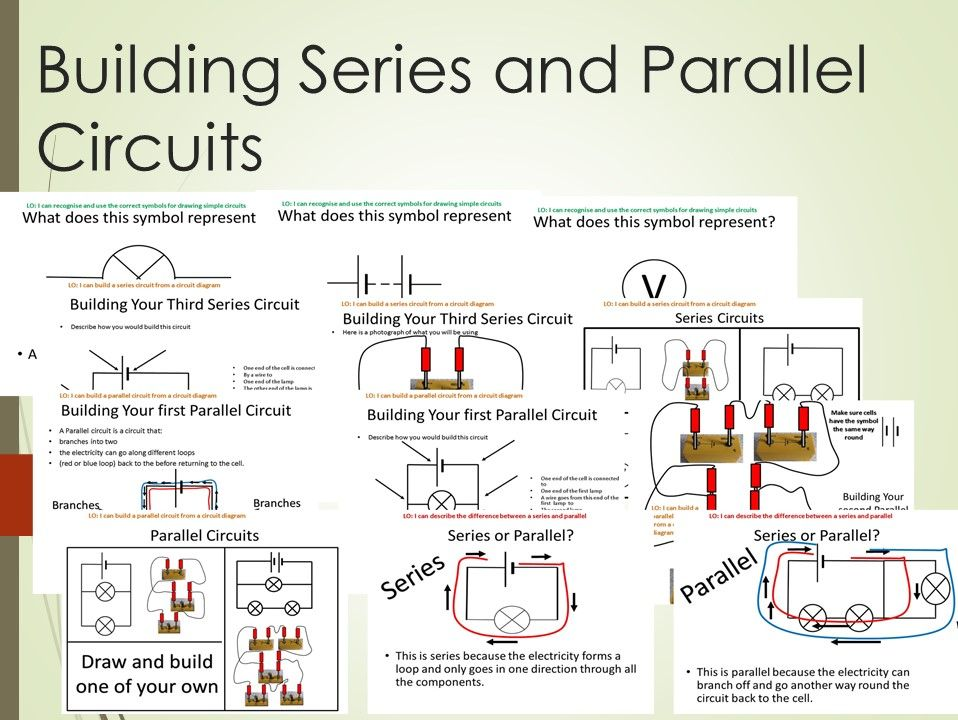 Electrical symbols and Building Circuits Lesson