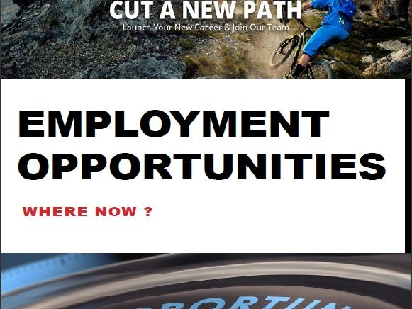 Employment opportunities for cycle mechanics