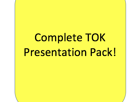 Theory of Knowledge Presentation Pack
