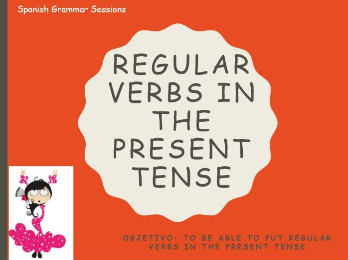 Present, Near Future and Preterite Tense PowerPoints with answers incorporated.