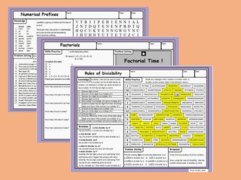 Maths Enrichment Activities