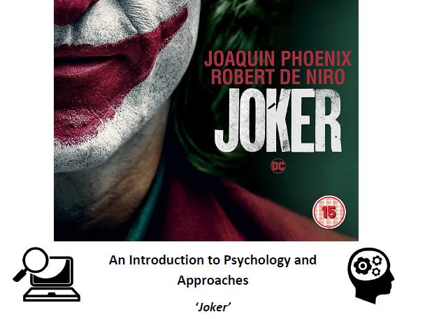 Approaches in Psychology: Joker'