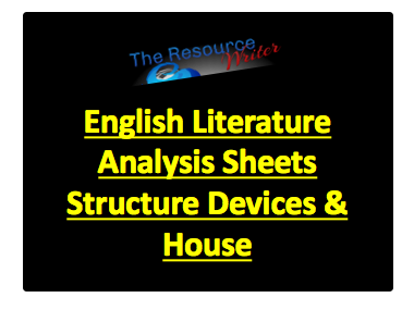 Literature Analysis Sheets Structure Devices and House