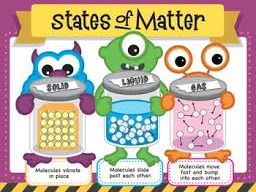 States of matter Differentiated worksheets