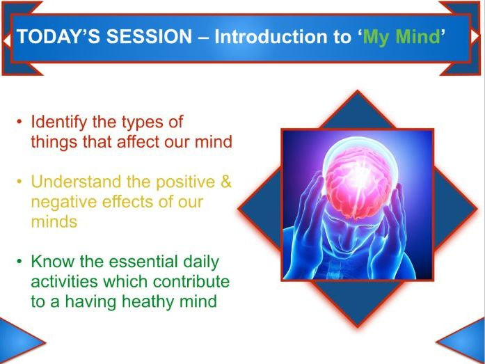 Mental Wellbeing PSHE KS3/4 | Teaching Resources
