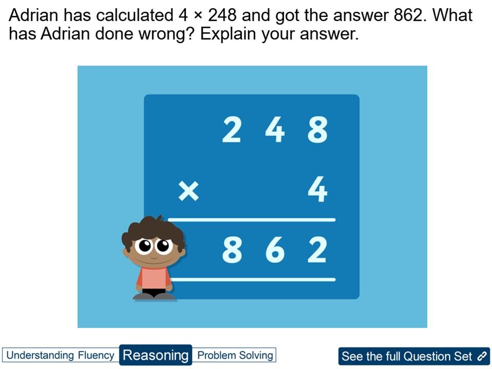 Year 4 Multiplication: 3 Digits by 1 Digit