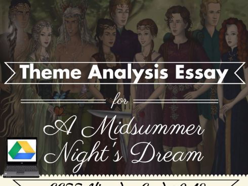 an analysis of the fundamental themes of a midsummers night dream Books and literature papers  the representation of mental ideas through a medium of communication is the fundamental challenge  a midsummers night dream.