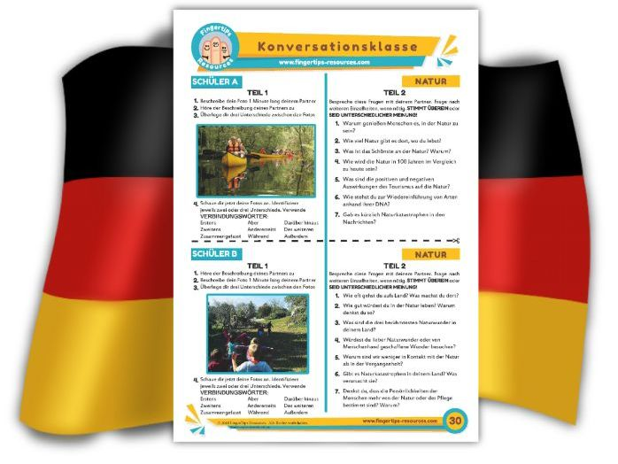 Natur - German Speaking Activity