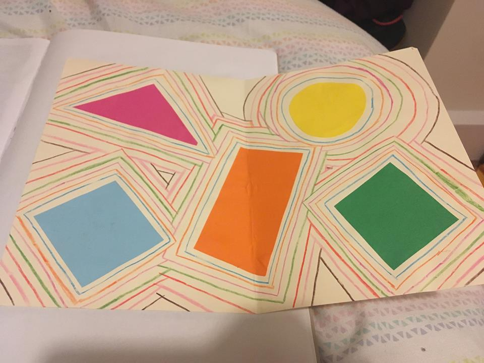 EYFS Art Lesson Shapes & Malevich