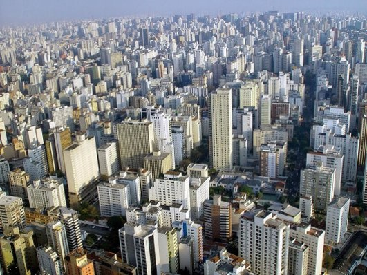 L1, L2 and L3 Sao Paulo Emerging Country Case Study Changing Cities GCSE Edexcel A (1-9)