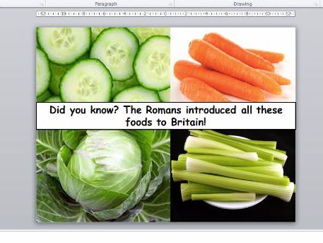 Roman food by alainechristian teaching resources tes roman food what did the romans eat and what type of entertainment did the have forumfinder Image collections