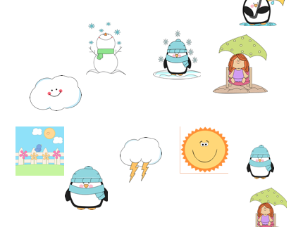 Weather Flashcards/Game