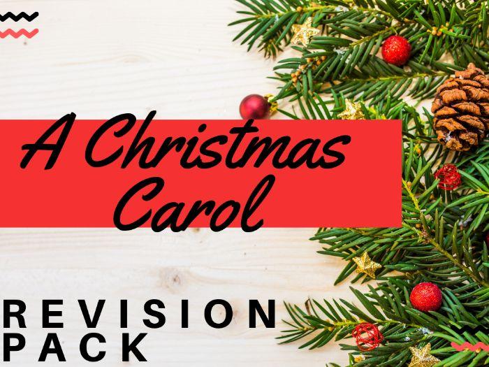 A Christmas Carol Revision Pack