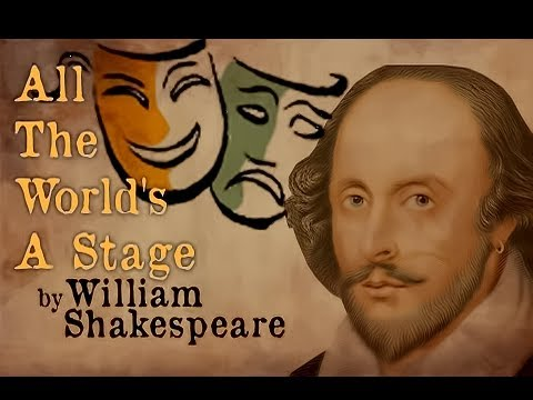 Shakespeare Poem 'All the World's a Stage'