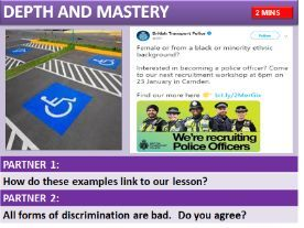 AQA RS HUMAN RIGHTS:  PREJUDICE & DISCRIMINATION (LAW & RELIGION) Christianity / Islam