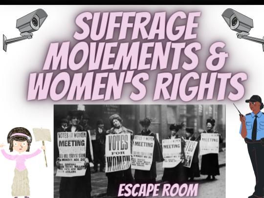 Suffrage Movements Escape Room