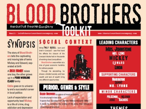 Blood Brothers  Poster A0 pdf