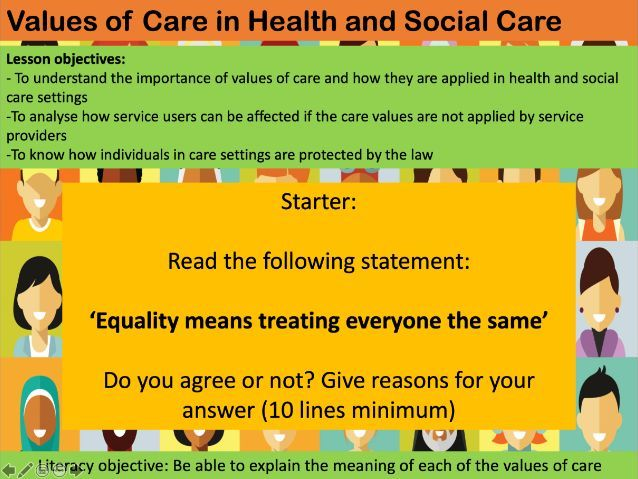 OCR Cambridge National Level 1/2 Health and Social Care- Unit R021 Exam Lessons