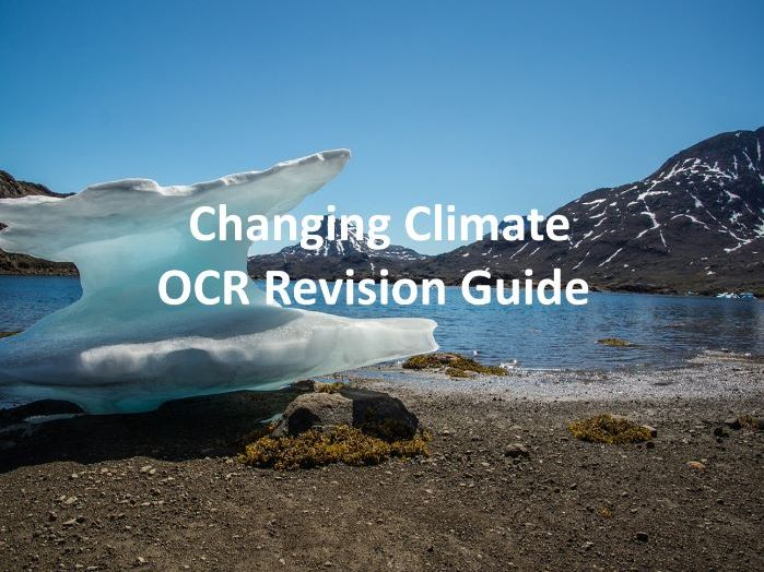 Changing Climate - Revision Guide OCR