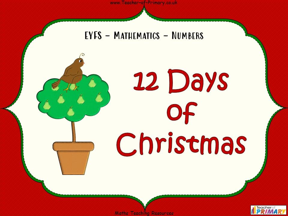 12 Days of Christmas - EYFS