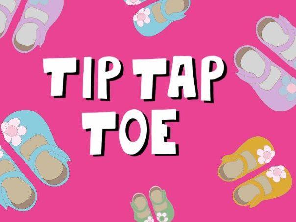 Music video for preschool children - 'Tip Tap Toe'