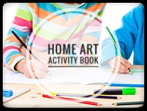 Home Learning Art Activity Book for Kids aged 11 to 16