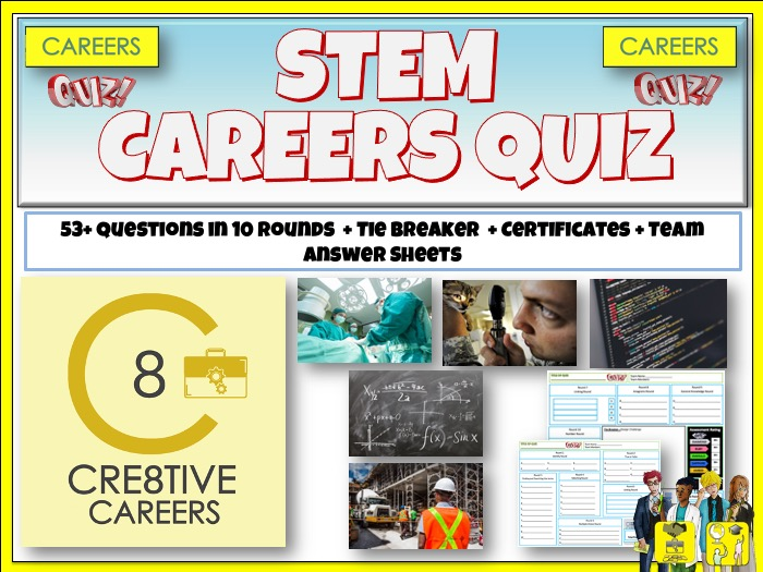 STEM Linked Careers Quiz
