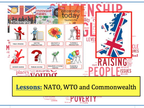 NATO, WTO and Commonwealth - New GCSE Citizenship (9-1)