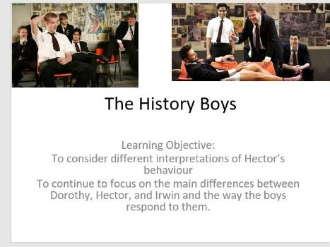 The History Boys Lesson Powerpoints