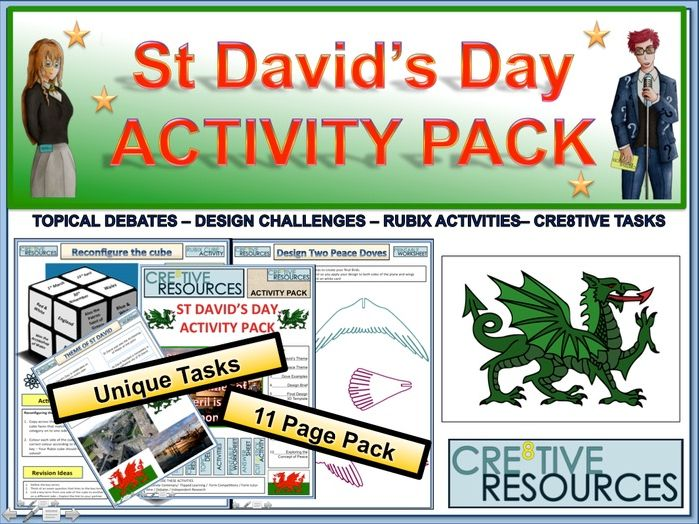 St David's Day Activity Pack