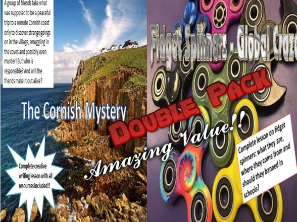 The Cornish Mystery and Fidget Spinners Double Pack with Starters