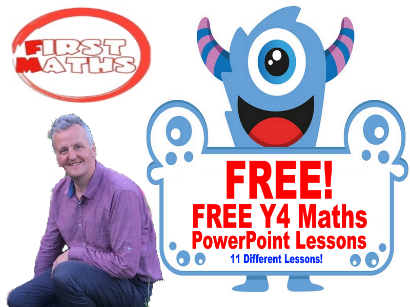 YouTube  Maths PowerPoint Lessons for Year 4 for Spring & Summer Term (SpringBoard 4 Material)